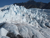 Glacier - up close and trek-able