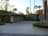 Kurt Russel's Palm Springs Home