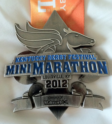 Kentucky Derby Mini Marathon Medal 2012