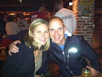 Kristin and Marty at Beer Heaven