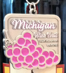Michigan Wine Trail Half Marathon Medal 2012