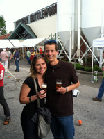 Mike & Kristin at the Drinking Expo
