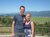 Nice stop for a photo on the way to Whitefish