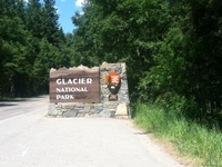 Glacier National Park - we have arrived
