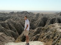Mike at the Badlands