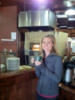 Kristin loves her coffee