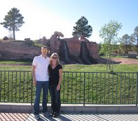 Mike and Kristin at Bear Country