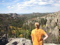 Enjoying the views