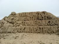 Shamrock Sand Sculpture