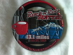 Seattle Half Medal